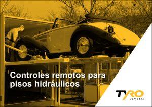 Controlo remoto para piso de carga